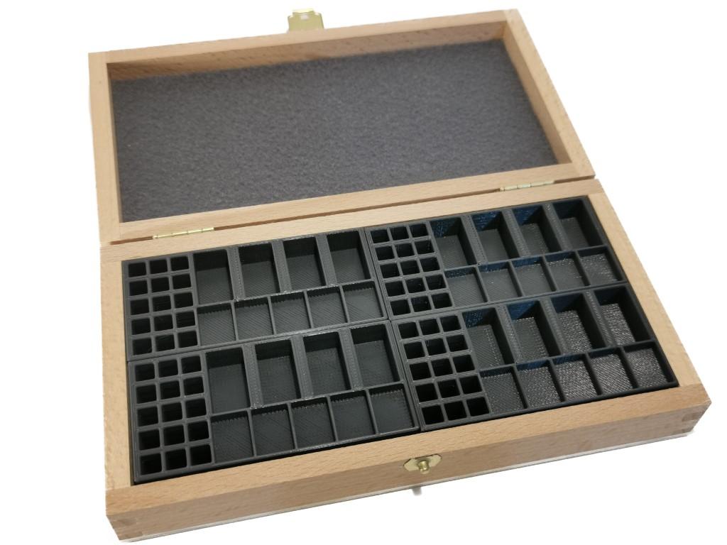 Holzkiste für 4x Basisspiel
