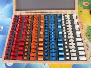 Holzkiste passend für 4x Basisspiel und Seefahrer