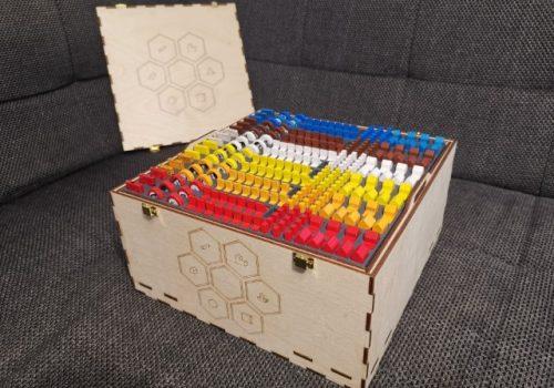 Box für die Siedler von Catan Holz