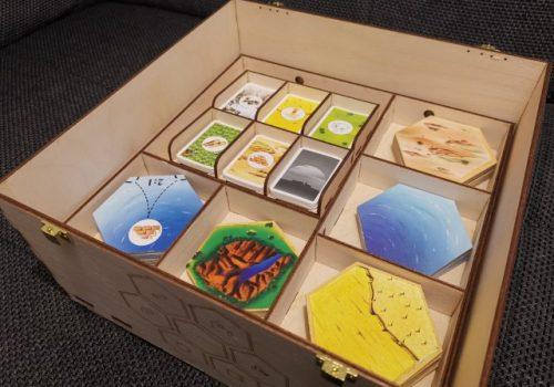 Box Holz für Die Siedler von Catan